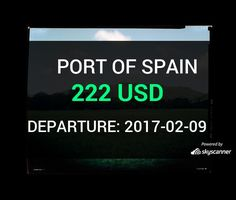 Flight from Minnepolis to Port Of Spain by Avia #travel #ticket #flight #deals   BOOK NOW >>>