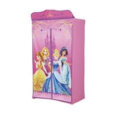 Penderie en tissu Disney Princesses.