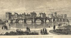 of the Tyne Bridge Newcastle upon Tyne Unknown 1887 The View Show, Local Studies, Image Please, Ancient Artifacts, Vintage Photos, Medieval, Towers, Bridges, Tours