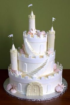 Castle cake: only in my dreams