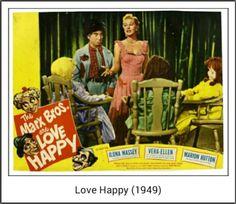 Love Happy Lobby Card (1949)