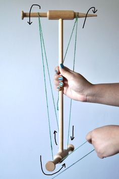 Finishing spun yarn after plying