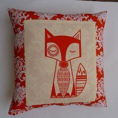 Fox Tricker in Orange - by Cushinn on madeit