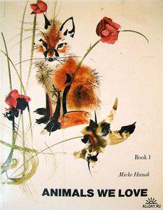Чешский художник-иллюстратор Mirko Hanak (1921-1971)