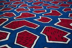 France rug by Nathalie du Pasquier, star of the Memphis movement, for La Chance - www. Nathalie Du Pasquier, Kids Rugs, France, Wallpaper, Pattern, Memphis, Images, Star, Carpet
