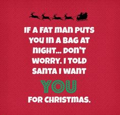 christmas hook up lines