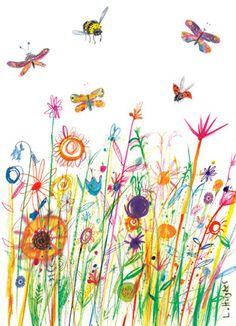 Flora and Fauna - Laura Hughes - Illustration