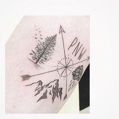 """: PNW Pacific northwest detail . . #tattooistbanul #tattoo #tattooing…"