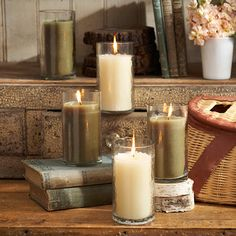 Mmm, I love candles with a long burn-life. These are 70 hours.
