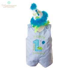 Boy First Birthday Outfit  Birthday by Whippersnappersandwh