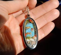 Hey, I found this really awesome Etsy listing at https://www.etsy.com/listing/169159633/secret-door-necklace-tiny-terrarium