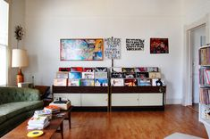 Simple Pleasures: Put Your Records On | eclectic home office by Corynne Pless | Houzz