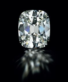 An impressive 80.73 carats cushion-cut diamond ring