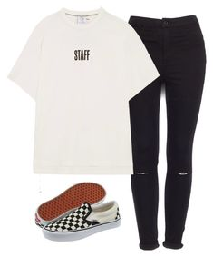 """""""Sin título #1235"""" by ariannastradlin ❤ liked on Polyvore featuring Pull&Bear, Vans and Vetements"""