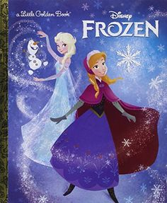 Frozen Little Golden Book (Disney Frozen) @ niftywarehouse.com #NiftyWarehouse #Frozen #FrozenMovie #Animated #Movies #Kids