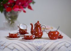 Re-Ment tea set
