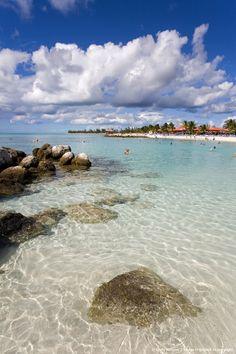 Beach on Princess Cays, Eleuthera Island, Bahamas