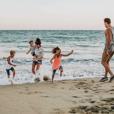 family. beach. kids.