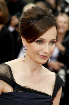 "Kristin Scott Thomas Photos - ""Vengeance"" premiere in Cannes - Zimbio"