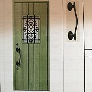 玄関 入り口 リーフグリーン ジエスタ リクシルの玄関ドアのインテリア実例 2017 11 30 13 16 47 Roomclip ルームクリップ 玄関ドア 玄関 ドア