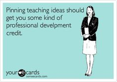 Creative professional development on Pinterest