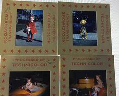 4 35mm Slides Little Girl 1960 1961 #Ford