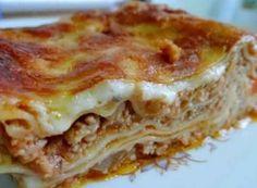 Vynikající lasagne - fotopostup krok za krokem | NejRecept.cz Pasta, Penne, Lasagne Bolognese, Thing 1, Bologna, Lasagna, Main Dishes, Food And Drink, Meals