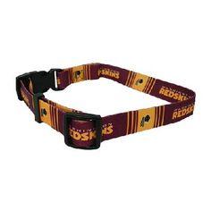 Washington Redskins Large Dog Collar