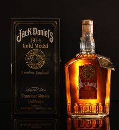 Jack Daniel s 1914 Gold Medal  Note: 1914 Gold Medal Series Even as Prohibition was sweeping the United States, Jack Daniel's Tennessee Whiskey was still winning awards.