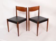Teak Dining Chairs Set of 4 by Frem Rojle by HearthsideHome, $795.00