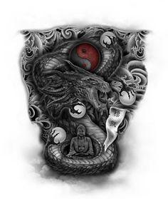 Top Ideas for japanese dragon tattoo forearm full sleeves Unique Half Sleeve Tattoos, Best Sleeve Tattoos, Tattoo Sleeve Designs, Tattoo Designs Men, Dragon Tattoo Forearm, Forearm Tattoos, Tattoo Sketches, Tattoo Drawings, Tattoos Pics