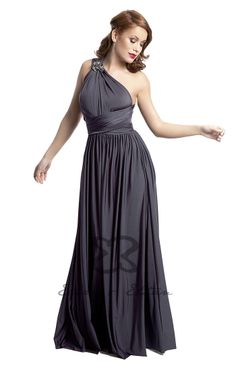 Eliza and Ethan - Multiway - Infinity -  Bridesmaids Dresses - OneSize - Maxi MultiWrap Dress Color: Black Diamond