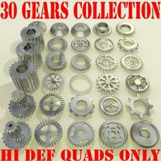 3D Model Industrial Wheel - 3D Model