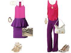 Pink/purple dressier options I can't wait to wear.