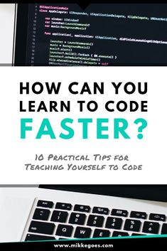 Use these simple but powerful learning strategies and tips to learn coding and web development faste Learn Computer Coding, Learn Computer Science, Learn Coding, Learn Programming, Computer Programming, Programming Tutorial, Blender 3d, People Reading, Coding For Beginners