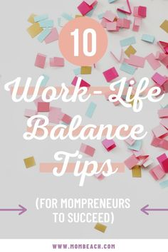 Work-life balance can be tricky, especially for moms! That's why I am sharing these top 10 work-life balance tips for mompreneurs to succeed in both life and work. #worklife #personalgrowth #productivity #worklifebalance #selfcaretips #workingmoms #mompreneur Parenting Issues, Parenting Hacks, Work Life Balance Tips, Work From Home Tips, Fun At Work, Useful Life Hacks, Marketing Strategies, Mom Quotes, Working Moms