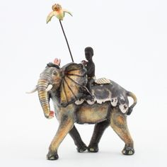 Ardmore Ceramics Elephant Rider AAA
