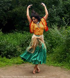 * Romani Gypsy dance in photos. Gypsy dance by Olga Azarova *