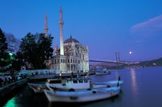 See two continents in one city in Istanbul