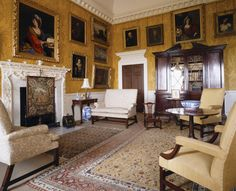 View of the Breakfast Room at Nostell Priory -- Nostell Priory & Parkland -- High quality art prints, canvases, postcards -- National Trust Prints