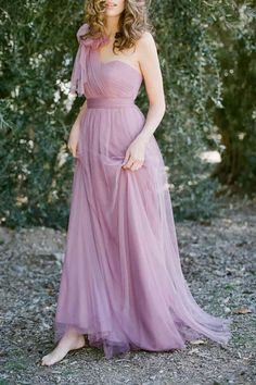 I really like the softness of this dress...i would alter the top portion tho