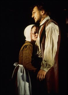 The Crucible Abigail Williams And John Proctor