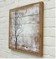 art on recycled boards