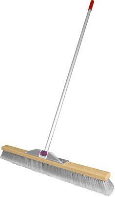 Super Sweep 36-Inch Gray Flagged Broom