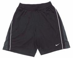 Nike Men's Training Athletic Basketball Shorts XL Black Lined Mesh #Nike #Shorts