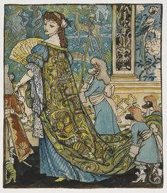Once again I've been delving into the Walter Crane Archive here in the Prints and Drawings Study Room. We often get enquiries about Walter Crane and it's ...