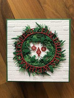Bastelwahnsinn: weihnachtliche Pralinenverpackung #1 Stampin Up, Christmas Cards, Paper Crafts, Artist, Boxes, Santa, Tutorials, Winter, Book Folding