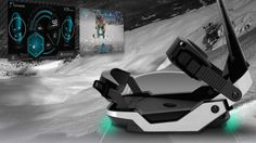 XON - The XON is a high-tech set of snowboard bindings that makes use of an array of sensors in order to provide boarders with a wide variety of i. Future Of Science, Snowboard Bindings, Futuristic, Skiing, All In One, Las Vegas, Tech, Japan, How To Make