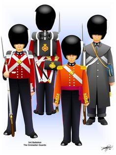 Uniforms of the British Army in the Crimean War-The Grenadier Guards