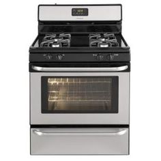 Frigidaire 4.2 cu. ft. Gas Range in Stainless Steel-FFGF3047LS at The Home Depot